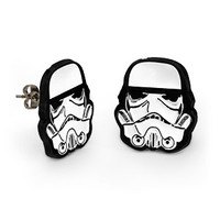 Stormtrooper Earrings