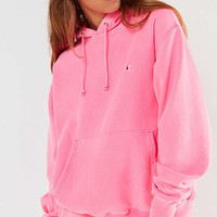 Champion & UO Pigment Dye Hoodie Sweatshirt | Urban Outfitters