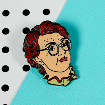 Barb Enamel Pin // stranger things, netflix // EP154