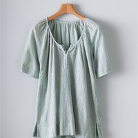 Poetry - Fine Cotton Embroidered Top