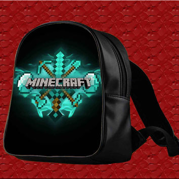 Minecraft Diamond Games for Backpack / Custom Bag / School Bag / Children Bag / Custom School Bag
