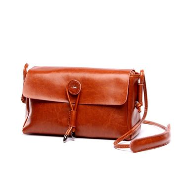 2016 hot famous brand genuine leather ladies bags female shopping shoulder bags for women handbag casual women's messenger bags