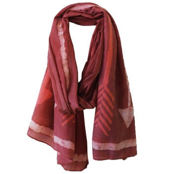 I liked this design on #Fab. Printed Maroon Arrow Scarf