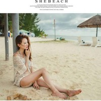 Sexy Women Lace Summer Swimsuit Coverups