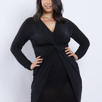 Plus Size Mia Twist Dress