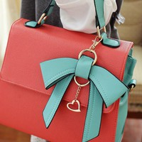 Cute Bowknot Handbag for Women