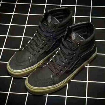 Vans SK8-Hi Old Skool Ankle Boots Canvas Flat Sneakers Sport Shoes H-ZPMY-ZZQGDL