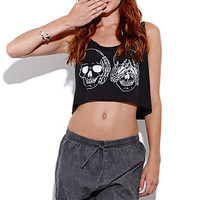 United Couture Skullina Cropped Tank at PacSun.com