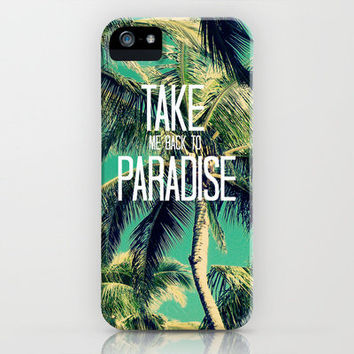 TAKE ME BACK TO PARADISE II  iPhone Case by Tara Yarte  | Society6