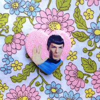 Spock - Star Trek Brooch