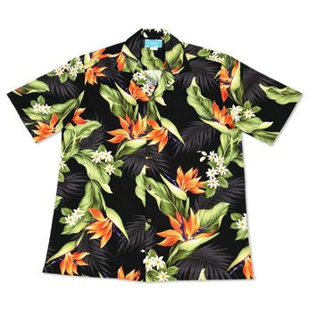 rainforest hawaiian cotton shirt