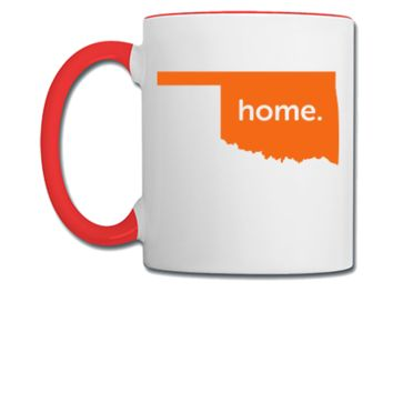 oklahoma home - Coffee/Tea Mug
