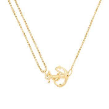 Anchor Pull Chain Necklace