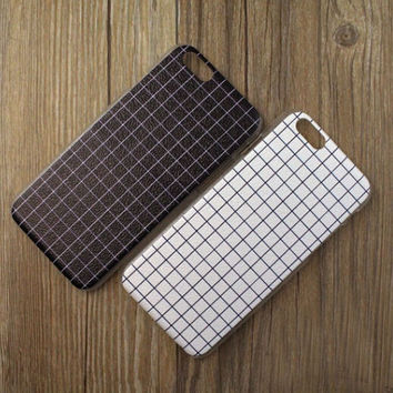 Vintage Style Lattice Case Cover for iPhone 5s 6 6s Plus