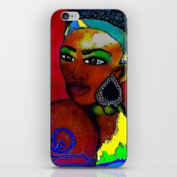 MRS AFRICA iPhone & iPod Skin by violajohnsonriley