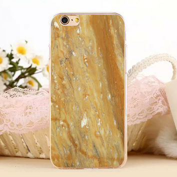 Unique Marble Stone Protect iPhone 5s 6 6s Plus creative case + Gift Box-131