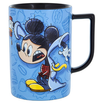 Disney Parks Mickey Coffee Makes Morningd Swell Coffee Ceramic Mug New