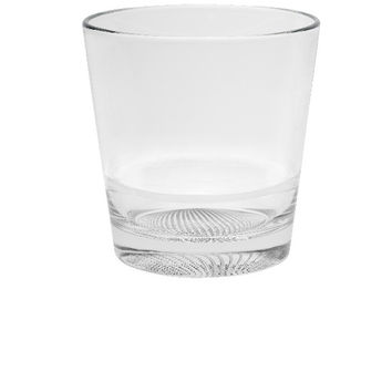 Majestic Gifts Quality Glass Stackable Double Old Fashioned Tumbler Set of 6