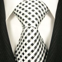Scott Allan Men's Checkerboard Necktie