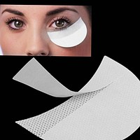 100pcs/50pairs Eyeshadow Shields Under Eye Patches Disposable Eye Shadow Makeup Protector Stickers Pads Eyes Makeup Application