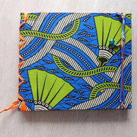 African Travel Journal, Travel Diary or Sketchbook, Blank, Handbound Notebook, Gift for Her, Gift for Him Gift for Teenagers, Reisetagebuch