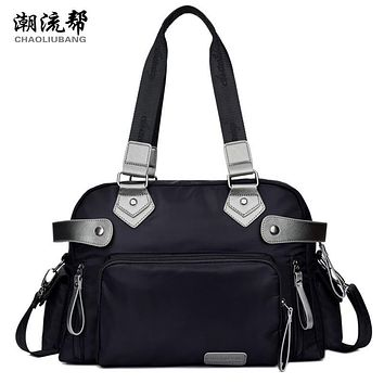 Sky fantasy fashion nylon solid casual waterproof classic women shoulder bags vogue hipster cross-body youth girls Commuter tote