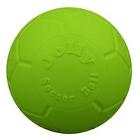 """Jolly Pets Green Apple Soccer Ball Dog Toy 6"""""""