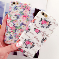 Original Flower iPhone 5se 5s 6 6s Plus Case Cover Gift 317