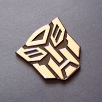 Small (2.5'') Autobots Transformers Car Emblem