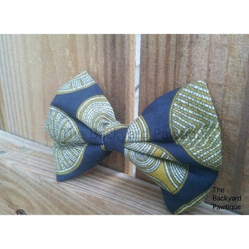 Ankara bow tie for pets, african printed bow tie, pets bowtie, neckwear for dogs or cats, bowtie for dog, bow ties for pets, collar slider