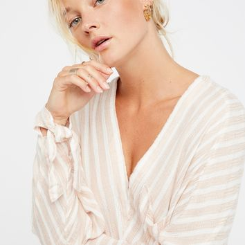 Free People Morning Striped Dolman