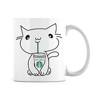 Starbucks Cat Mug