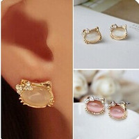 Hello Kitty Jewelry Stud Earrings