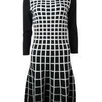 Lauren Ralph Lauren Women's Textured Pattern Sweater Dress