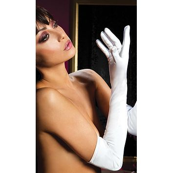 Gloves - Stretch Spandex Elbow-Length Opera