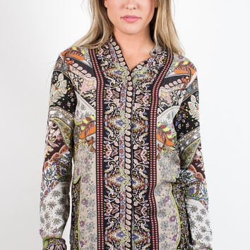 Upon Reflection Tunic Top