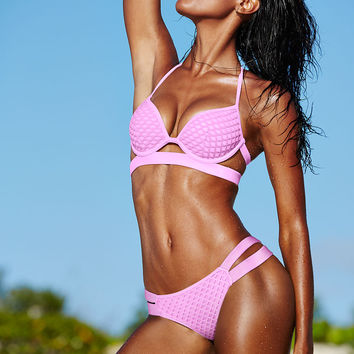 The Mesh Hottie Halter - Victoria's Secret Swim - Victoria's Secret