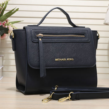 MK Women Shopping Bag Leather Handbag Tote Shoulder Bag Satchel