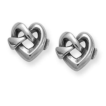 Heart Knot Ear Posts