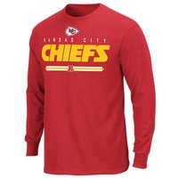 Kansas City Chiefs Critical Victory VI Long Sleeve T-Shirt - Red