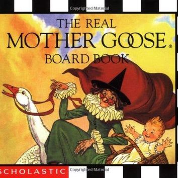 The Real Mother Goose BRDBK