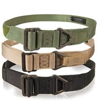 Tactical Belt Emergency Rescue Rigger Militaria Military CQB Adjustable Survival  HMM color random