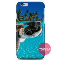 Ocean Turtle Baby Swimming iPhone Case 3, 4, 5, 6 Cover