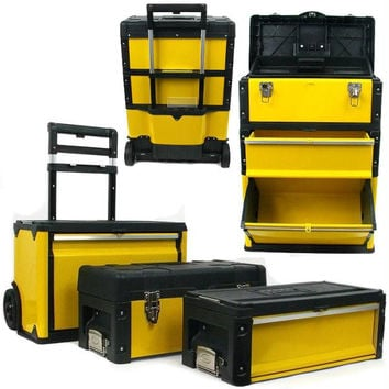 Stalwart? Oversized Portable Tool Chest-3 Tool boxes