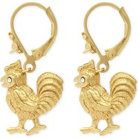 VIVIENNE WESTWOOD JEWELRY - Rooster earrings | Selfridges.com