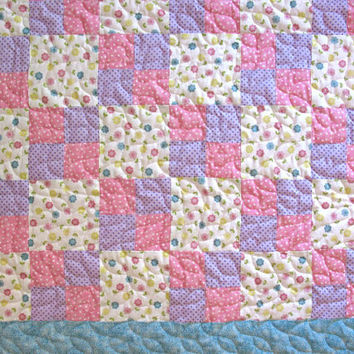 Shop Handmade Baby Girl Quilts On Wanelo