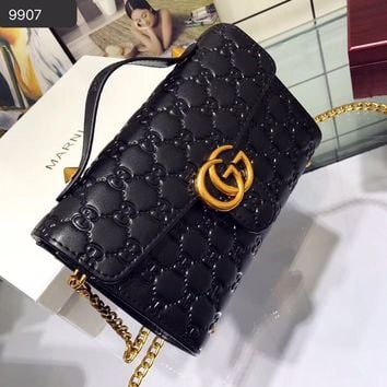 GUCCI GG Crossbody Shoulder Bag