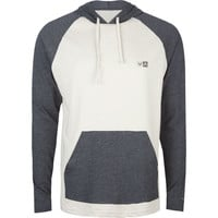 Rvca Graham Mens Lightweight Hoodie Stone  In Sizes