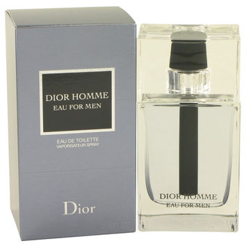 Dior Homme Eau By Christian Dior Eau De Toilette Spray 3.4 Oz