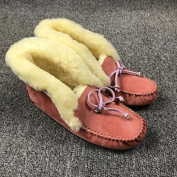 UGG Slippers ALENA Women Pink Shoes 1004806